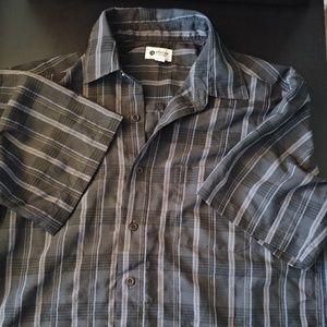 Haggar Clothing Shortsleeve Button-up